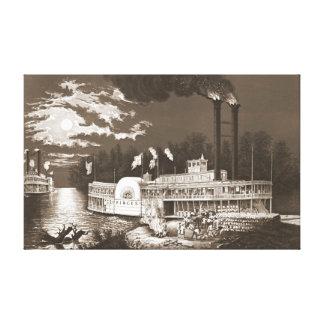 Moon River 1863 Canvas Print