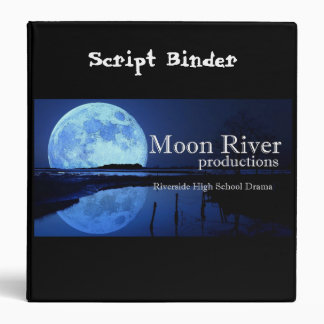 Moon River productions script binder