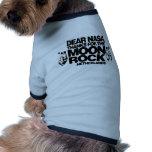 MOON ROCK DOG T SHIRT