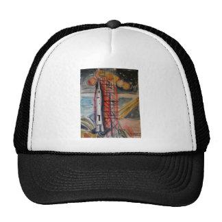 Moon Rocket 1969 Historical Memorabilia Trucker Hat