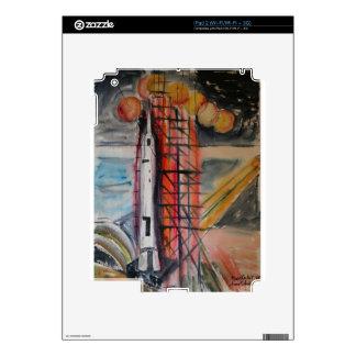 Moon Rocket 1969 Historical Memorabilia iPad 2 Skin
