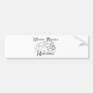 Moon Rocks Naches Car Bumper Sticker