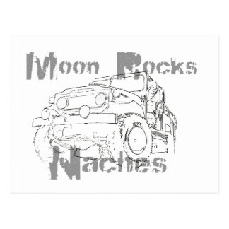Moon Rocks Naches Postcard