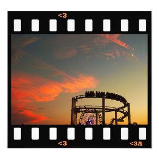 moon- rollercoaster photo print
