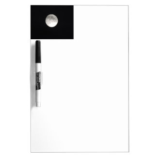Moon satellite Dry-Erase boards