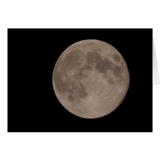 Moon satellite lunar moonlight greeting cards