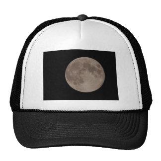 Moon satellite lunar moonlight mesh hats