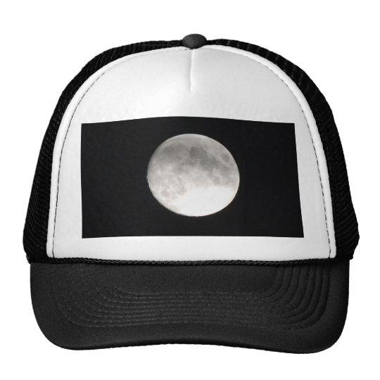 Moon satellite trucker hat