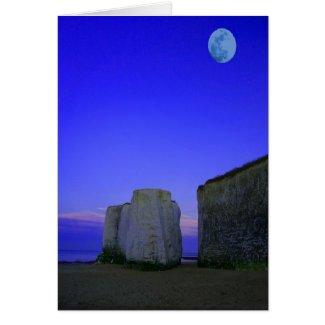Moon Sea Cliff card