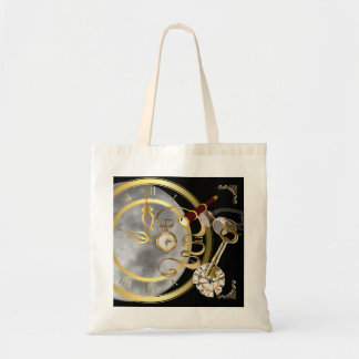 Moon sets the Time Tote Bag