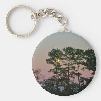 Moon Setting @ Dawn Items Keychain