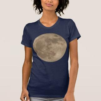 Moon Shirt Full Moon T-shirt Lady'sMoon Shirt T-shirt