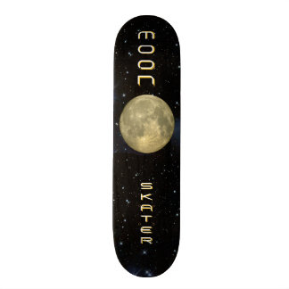 Moon Skater Skateboard Deck