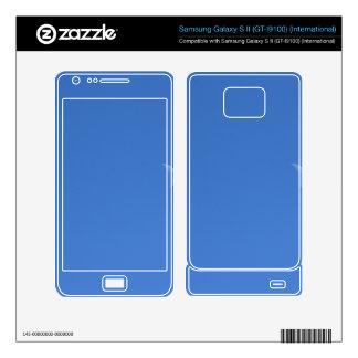 Moon Samsung Galaxy S II Decal