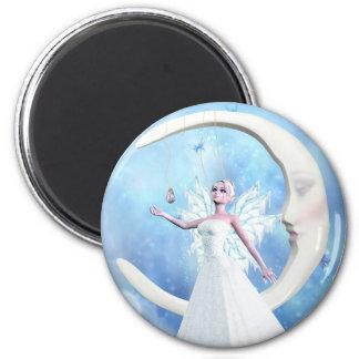Moon Sky Fairy Magnet