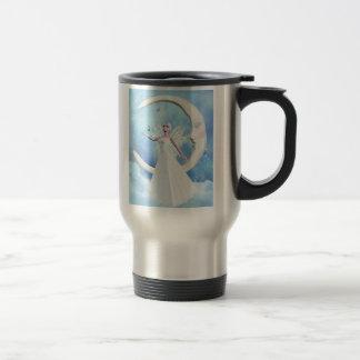 Moon Sky Fairy Travel Mug