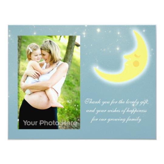 Moon sky thank you card