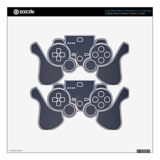 Moon Sliver Skin For PS3 Controller