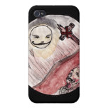 Moon Smiling at Corpse Cover For iPhone 4