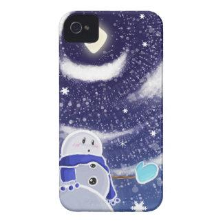 Moon Snow Blackberry Case