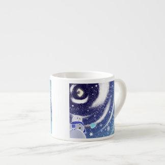Moon Snow Expresso Mug