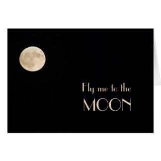 Moon Solitude Greeting Cards