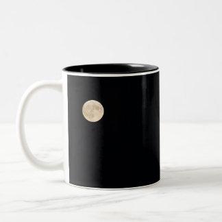 Moon Solitude Two-Tone Coffee Mug