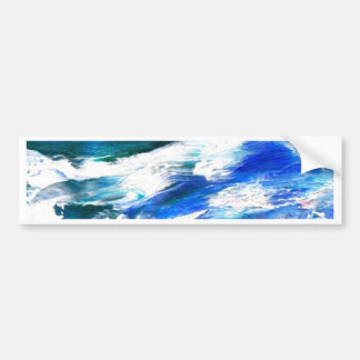 Moon Song - CricketDiane Ocean Art Car Bumper Sticker