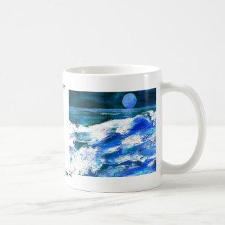 Moon Song - CricketDiane Ocean Art Coffee Mug