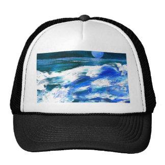 Moon Song - CricketDiane Ocean Art Mesh Hat