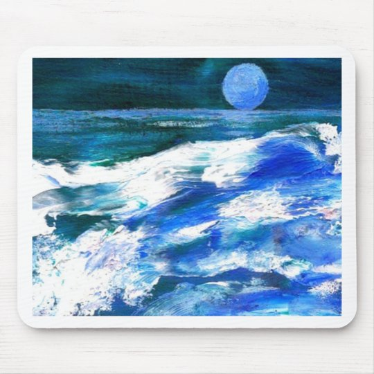 Moon Song - CricketDiane Ocean Art Mouse Pad
