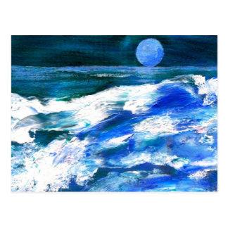 Moon Song - CricketDiane Ocean Art Post Cards