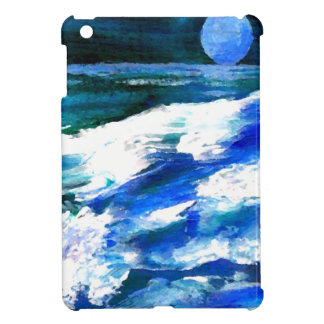 Moon Song Ocean Waves Art - CricketDiane iPad Mini Case