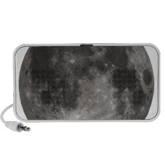 Moon Space Office Party Shower Peace Love Art iPod Speakers