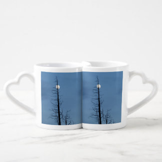 Moon Speared By Tree Coffee Mug Set