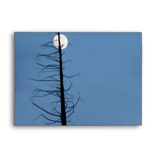 Moon Speared By Tree Envelopes