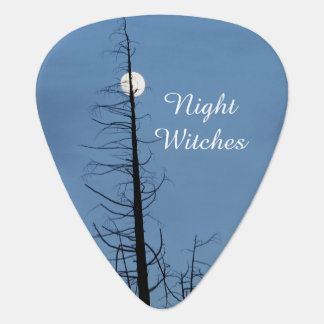 Moon Speared By Tree Guitar Pick
