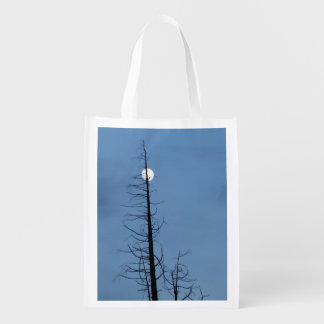 Moon Speared By Tree Market Tote