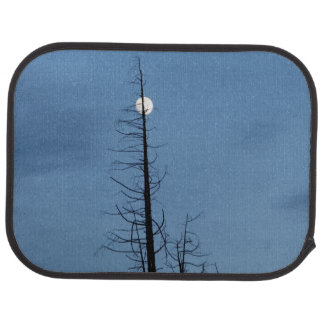 Moon Speared By Tree Car Mat
