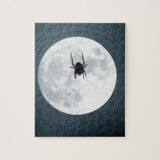 Moon spider jigsaw puzzle