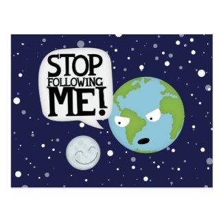 Moon Stalker Postcard