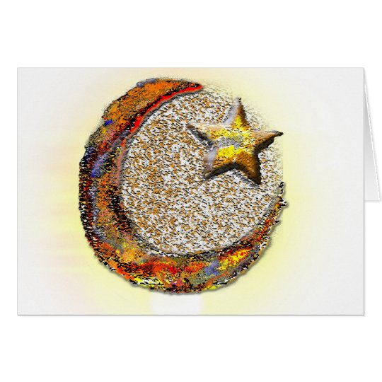 Moon-Star -Islam Card