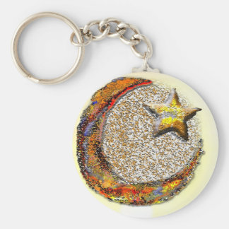 Moon-Star -Islam Key Chains