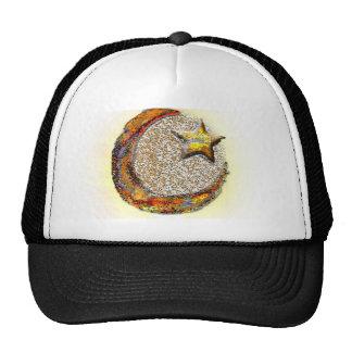 Moon-Star -Islam Mesh Hats