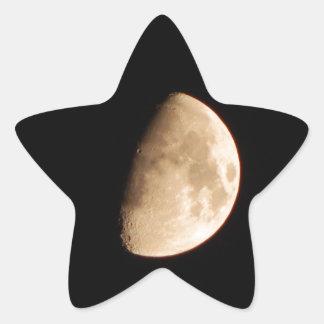 Moon Star Sticker