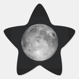 Moon Star Star Sticker