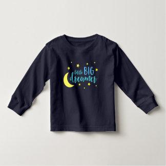 Moon & Stars Blue Little Big Dreamer Toddler T-shirt