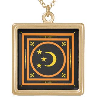 """""""Moon & Stars"""" Halloween Necklace"""