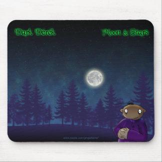 Moon & Stars Mouse Pad