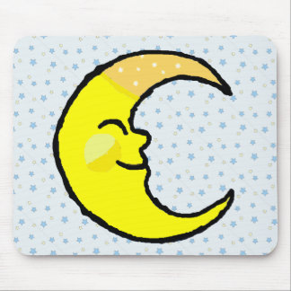 Moon & Stars Mouse Pads